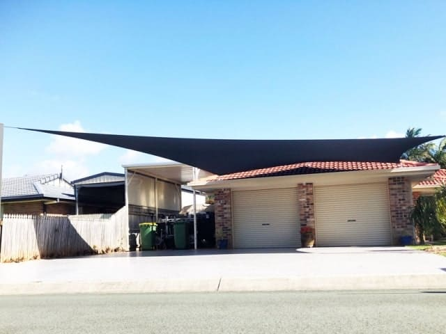 5 Point Carport Shade Sail- Victoria Point - Superior Shade Sails