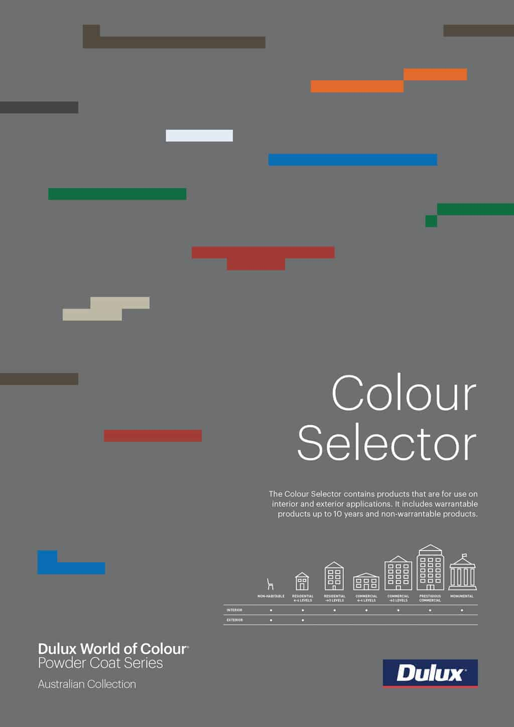 Dulux Powder Colour Selector -