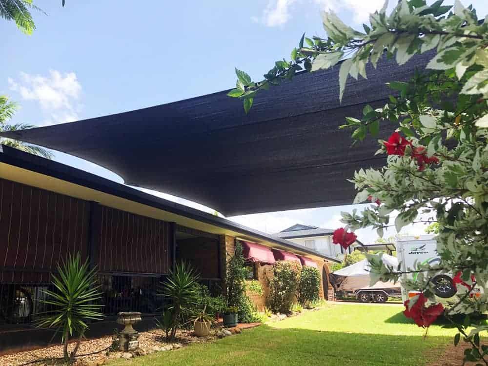 Boat & Caravan Shade Sail Cover | Superior Shade Sails, Brisbane