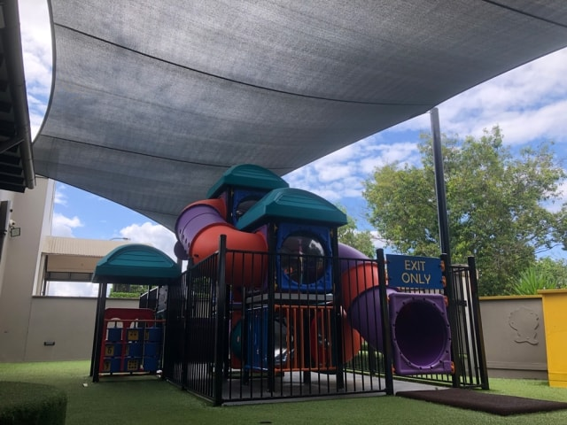 Replacement Shade Sail  The Forest Lake Hotel now has a brand new shade sail for the playground