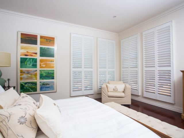 Polymer Shutters for the home, apartments, patios, outdoor areas available from Superior Shade Sails Brisbane