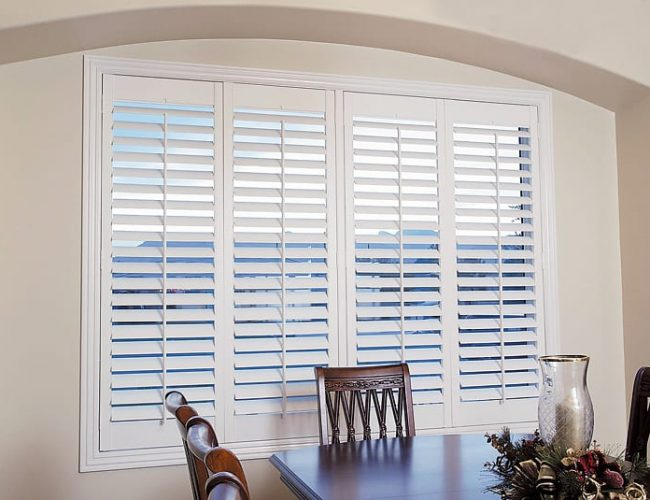 Polymer Shutters for indoor and outdoor installed by Superior Shade Sails Brisbane into your home, apartment or outdoors.