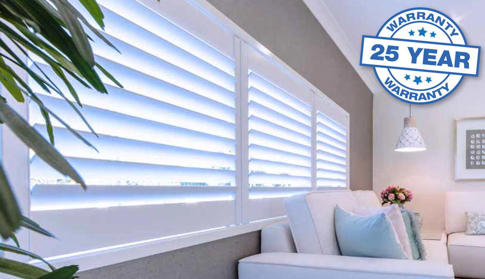 Thermalite Shutters have the look and feel of wood with several major advantages. Made from dense polymer foam, Thermalite is a solid, non-toxic synthetic material.