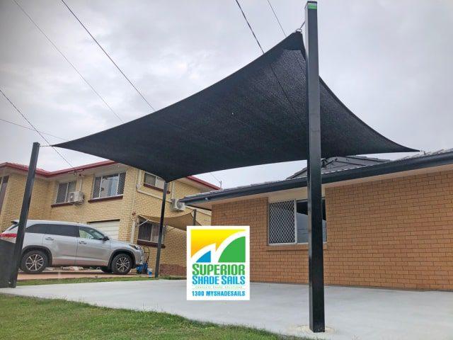 Carport Shade Sails installed by Superior Shade Sails Brisbane