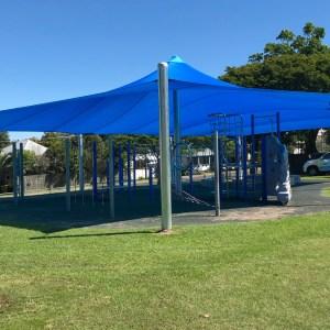 Paragon Shade Sails installed by Superior Shade Sails, Brisbane.