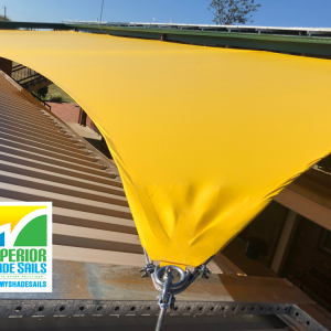 St.Brigid's School in Rosewood with this amazing 9 Point Shade Sail.